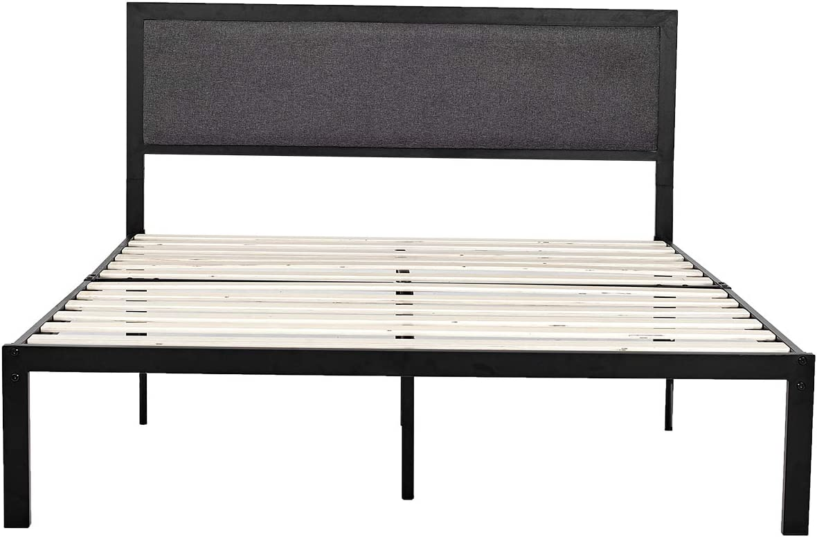 Queen Platform Metal Bed Frame