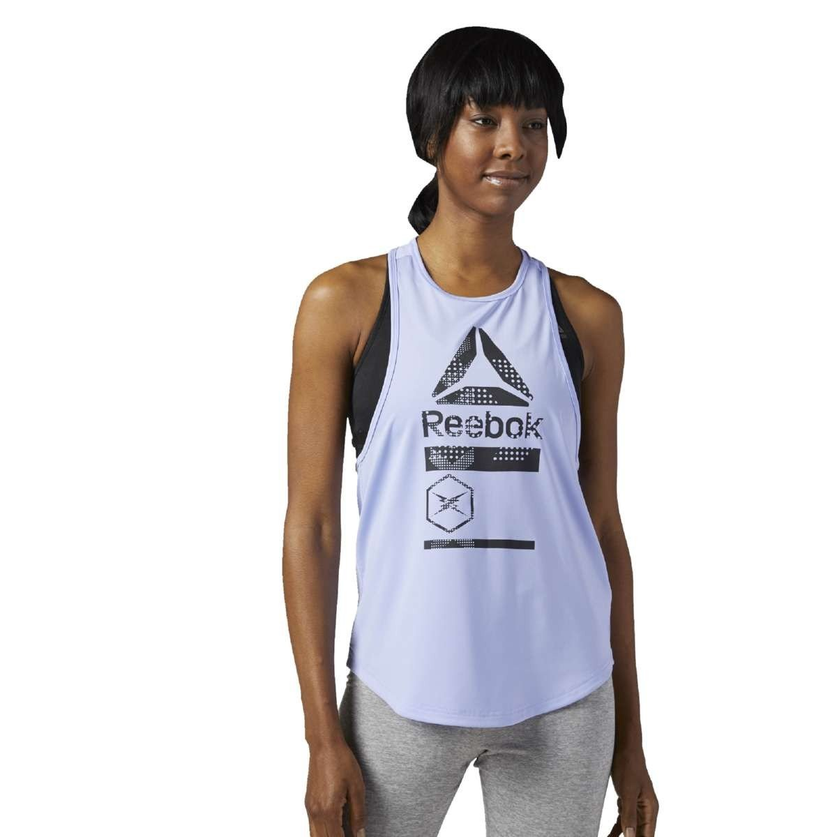 Reebok Ce4436 Camiseta de Tirantes Mujer