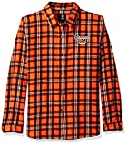 Cincinnati Bengals 2016 Wordmark Basic Flannel Shirt - Womens Extra Large