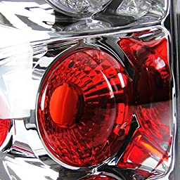 Spec-D Tuning LT-SIV99-TM Chevy Silverado/ GMC Sierra 1500 2500 3500 Flareside Chrome Altezza Tail Lights
