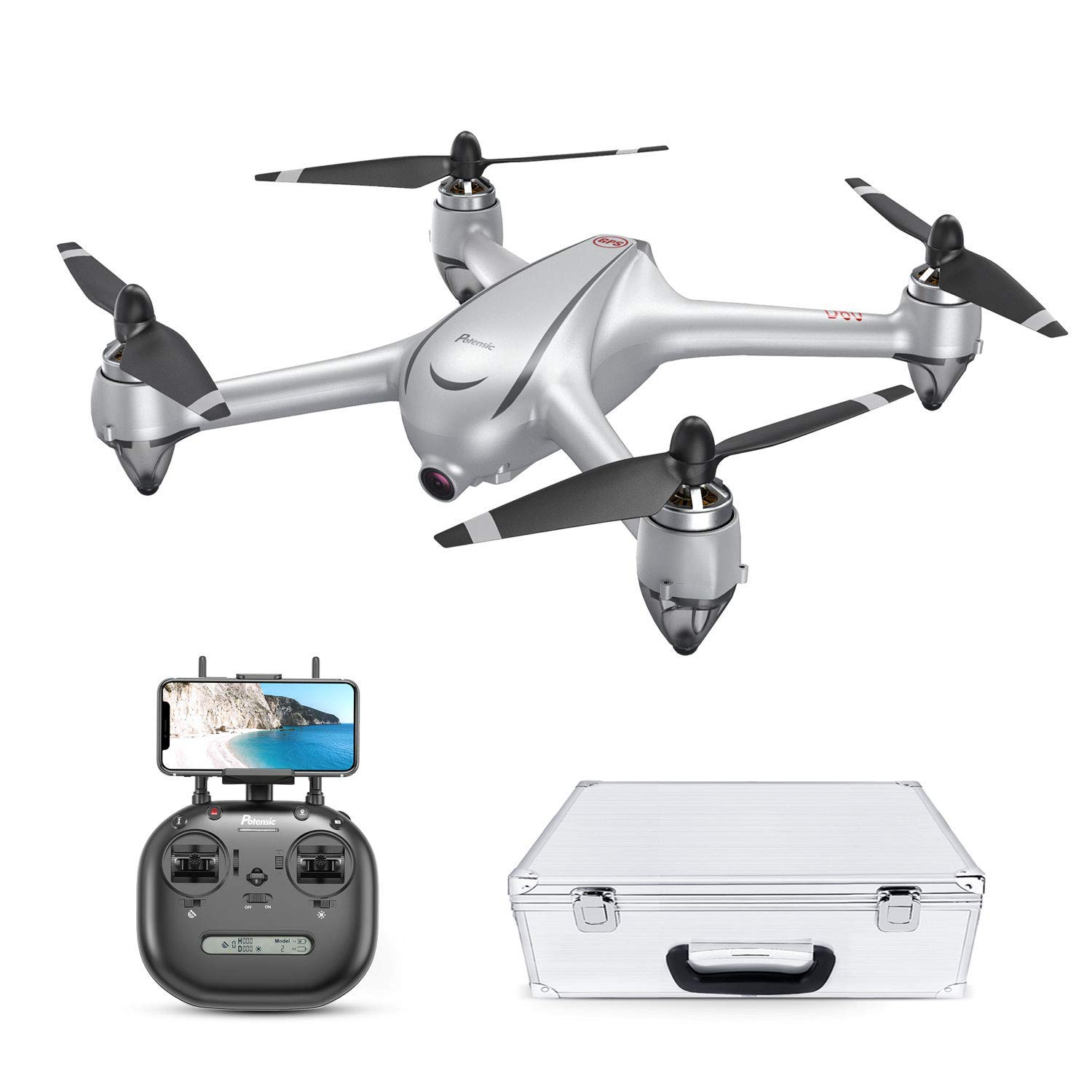 Drone GPS Con Motore Brushless Potensic