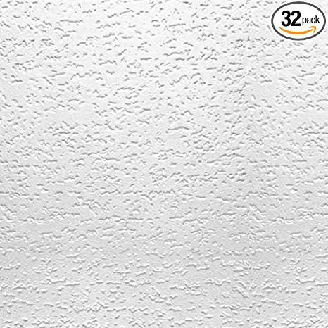 Usg Interiors 4240 Tivoli Textured Ceiling Tiles12x12 Inch Qty 32