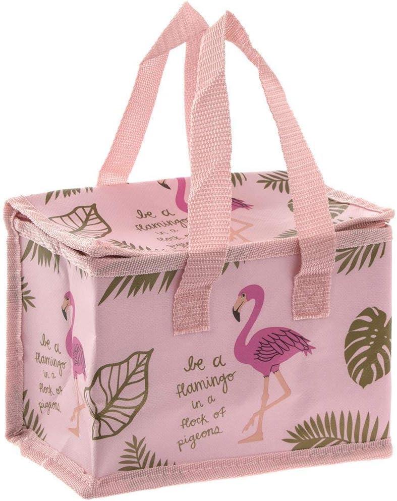 Leonardo Pink Flamingo borsa termica per il pranzo