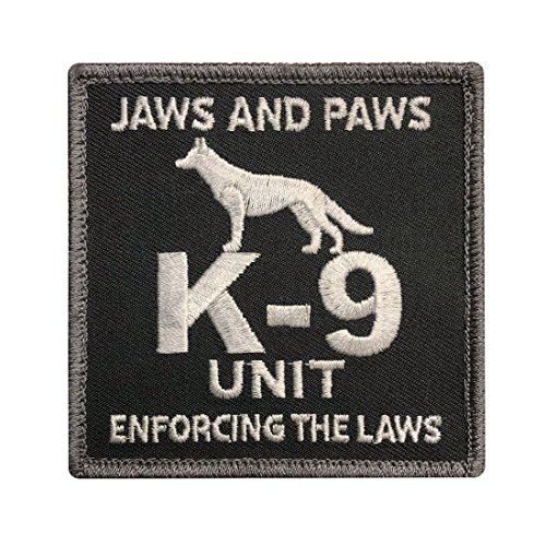 Unit Patch - Hook K-9 Unit Tactical Morale Patch (MTK9A)