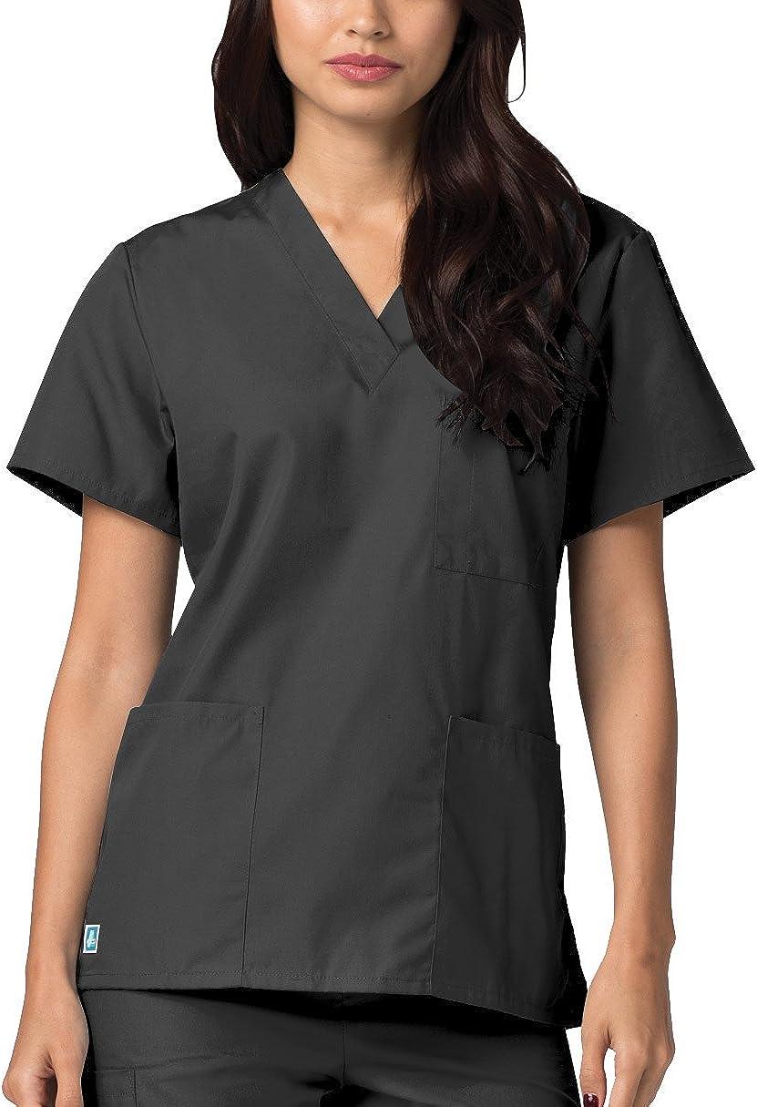 Adar Uniforms Medizinische Uniformen Unisex Top Krankenschwester Krankenhaus Berufskleidung