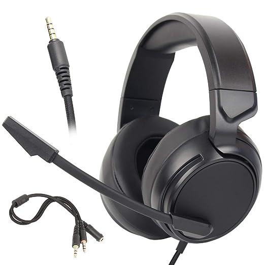 KEMANDUO PS4 Auricular para Juegos, Xbox un Auricular, Ordenador ...