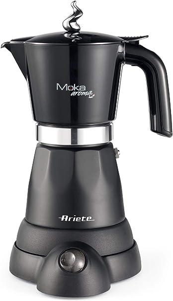 Ariete 1368 Cafetera eléctrica Moka aroma, 480 W, plástico