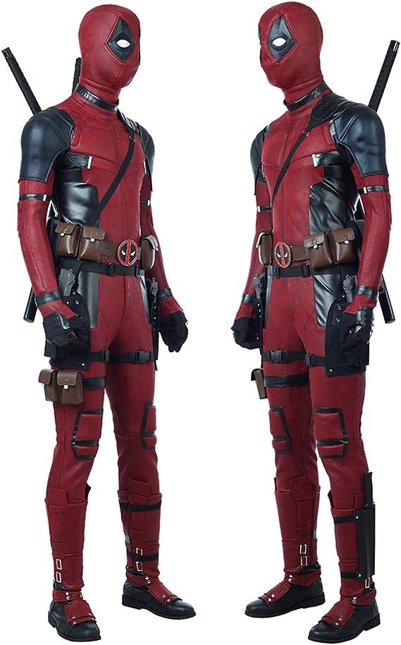 QWEASZER Disfraz de Deadpool de X-Men Disfraz de Wade Wilson ...