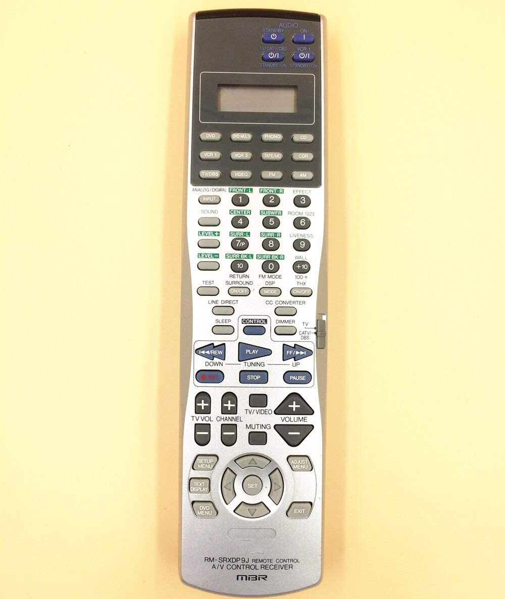 Calvas ORIGINAL REMOTE CONTROL RM-SRXDP9J FOR JVC AV RECEIVER RX-DP9VBK