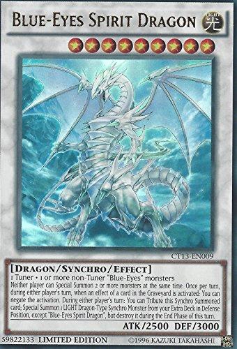 (Yugioh Blue-Eyes Spirit Dragon CT13-EN009 - Ultra Rare - Limited Edition NM ^G#fbhre-h4 8rdsf-tg1327380)