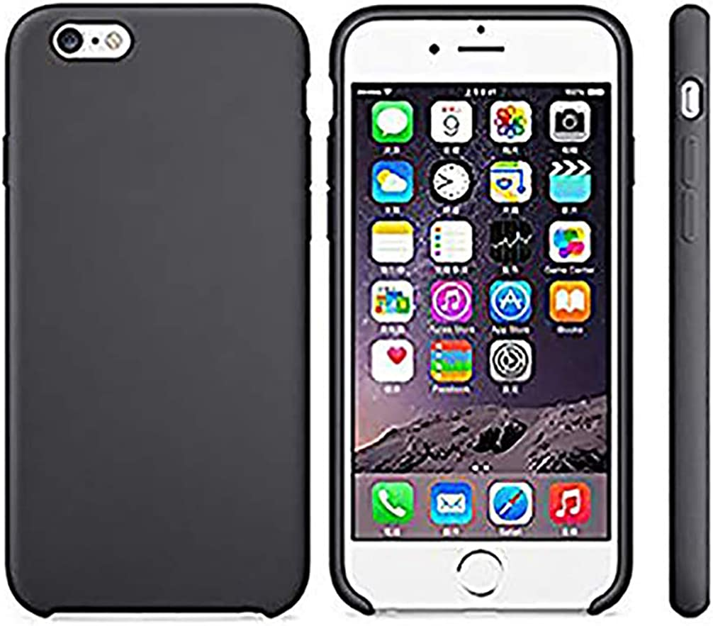Anyos iPhone 5 5S SE Case, Liquid Silicone Gel Rubber Slim Fit Soft Skin Bumper Protective Cover for Apple iphone5 5S SE,