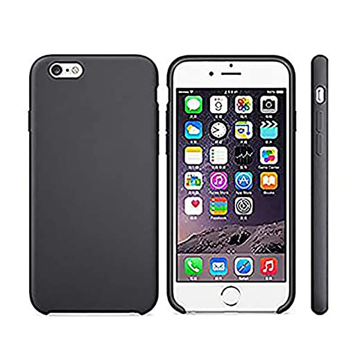 a5220b2bfaa Amazon.com: Anyos iPhone 5 5S SE Case, Liquid Silicone Gel Rubber Slim Fit  Soft Skin Bumper Protective Cover for Apple iphone5 5S SE (Black): Clothing