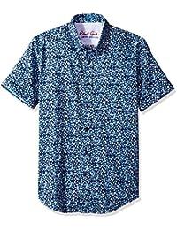 a2d054344a8 Robert Graham Button Front L S Shirt Mens Size 2XL Blue. Men s Bronson