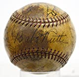 Babe Ruth Signed Baseball 1932 Yankees Gehrig Dickey - PSA/DNA Certified