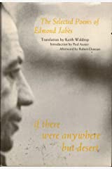 If There Were Anywhere but Desert: The Selected Poems of Edmond Jabes Hardcover