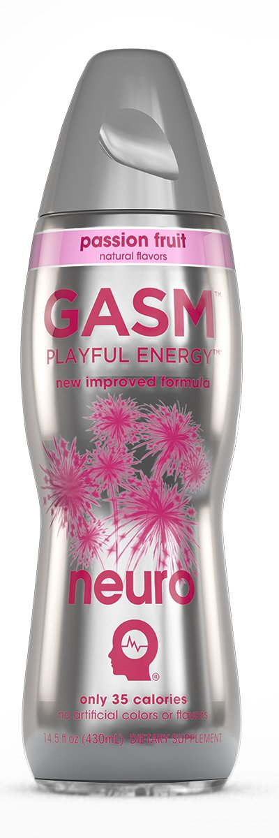 Neuro Gasm, passion fruit 14.5-Ounce Packages (Pack of 12)