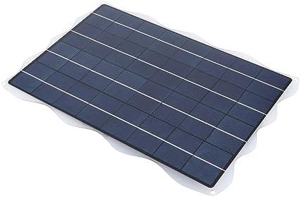 Bicaquu con ventosas 18V 20W 5V Salida: Panel Solar portátil ...