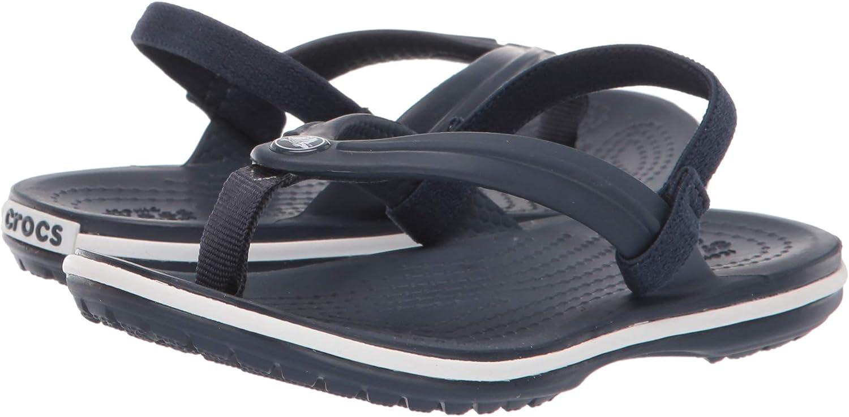 Crocs Kids Boys and Girls Crocband Strap Flip Flop