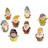 Fisher Price - Blancanieves y los 7 enanitos, muñecos (Mattel Y2781)