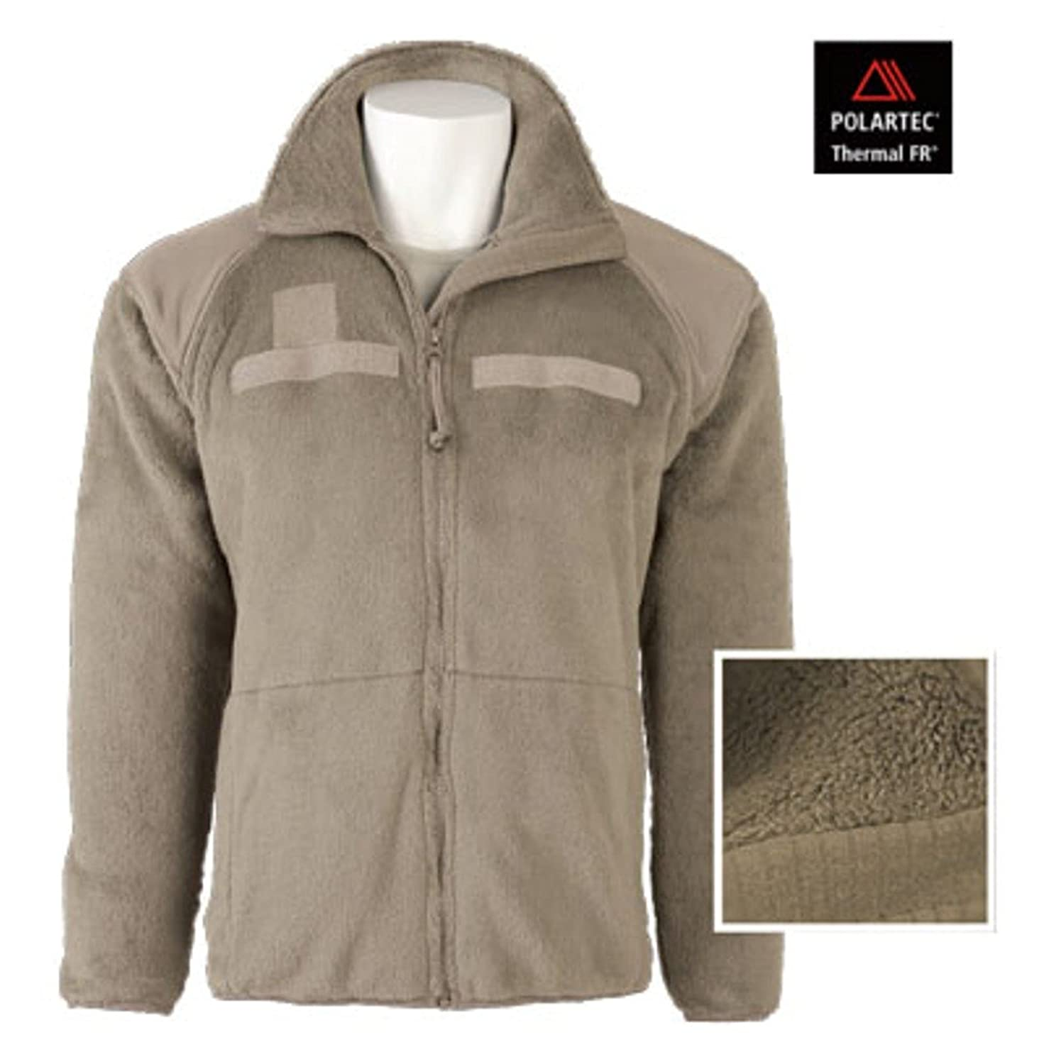 Polartec FR Fleece Jacket FR ECWCS (NON Military Issue) Coyote Tan ...