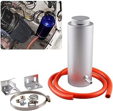 Top10 Racing Radiator Coolant Tank 800ml Universal Coolant Expansion Tank Cooling Catch Bottle Overflow Reservoir Heatsinks Oil Catch Tank Aluminum Billet