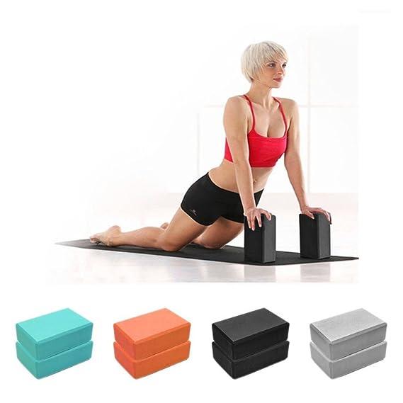 🇺🇸 Celiy 🇺🇸 Exercise Fitness Yoga Blocks Foam Bolster Pillow Cushion EVA Gym Training