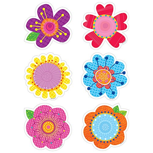 Creative Teaching Press Springtime Blooms Cut Outs, 3