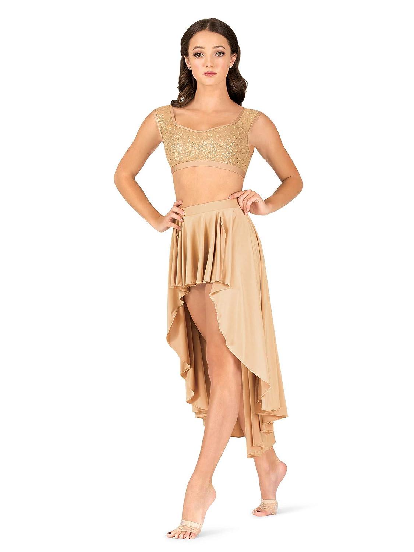 Natalie Dancewear SKIRT レディース B07H6GR77W  肌色 X-Large