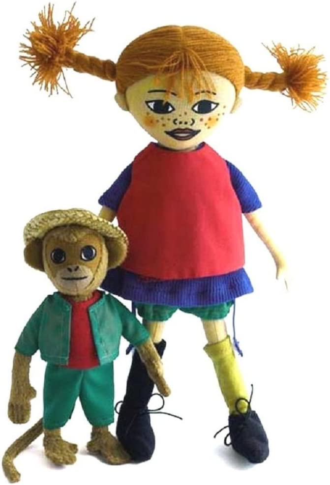 Amazon.es: Figura de Pipi Calzaslargas y Señor Nilsson el Mono de ...