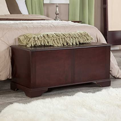 End Bedroom Chest Bench Of Bed Storage Trunk Benches ...