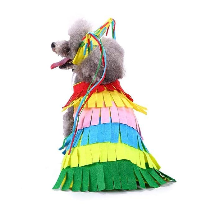 YouN Ropa para Perros Pet Mascotas de Invierno Suéter Abrigos Ropa para Perros de Navidad (XL: Amazon.es: Productos para mascotas