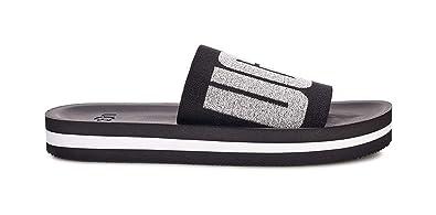 f227652f5 Amazon.com | UGG Women's Zuma Metallic Graphic Slide Sandal | Slides