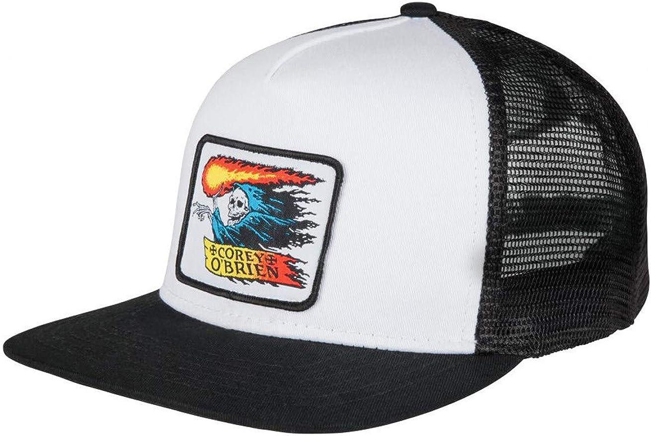 Santa Cruz Corey OBrien Reaper white/black Trucker Gorra: Amazon ...