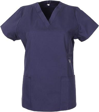 MISEMIYA - PANTALÓN Sanitarios Mujer Uniformes Laboratorios Uniformes Dentistas Veterinaria MÉDICOS Enfermeras - Ref.708: Amazon.es: Ropa y accesorios