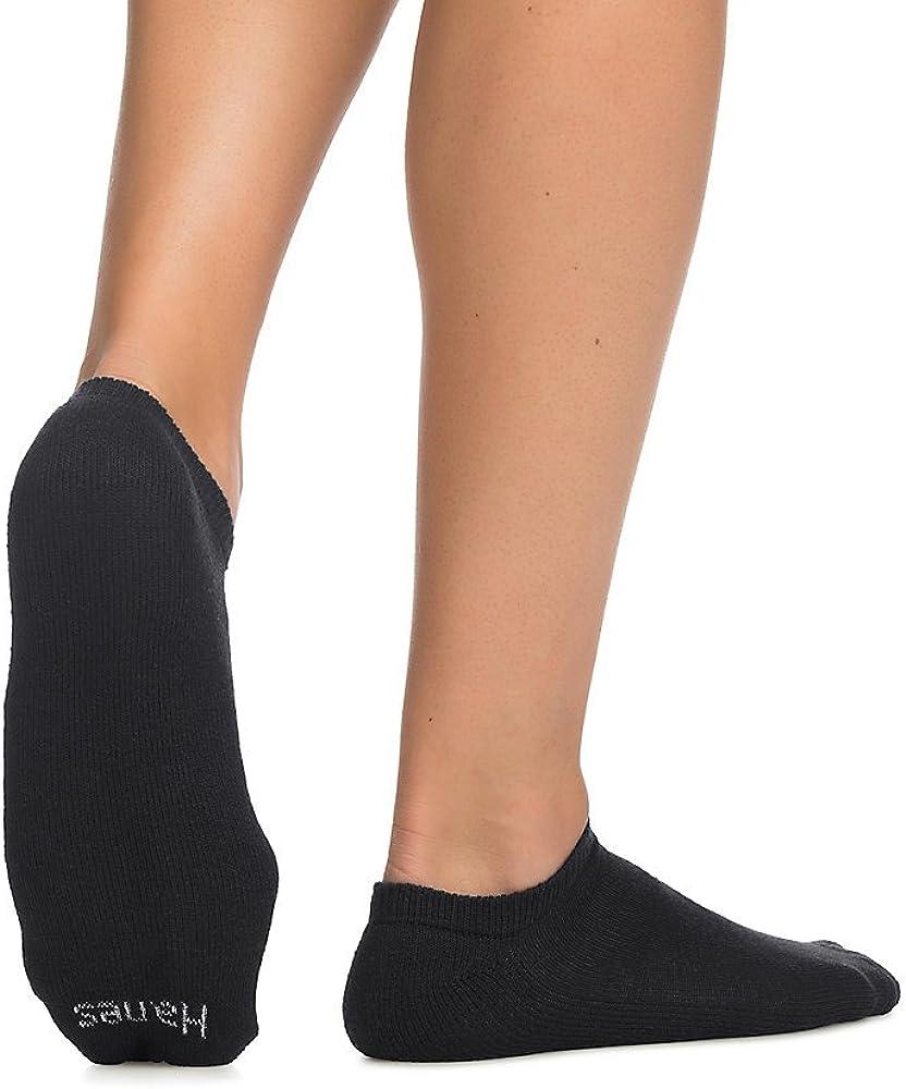Hanes Men's No-Show Socks 10-Pack,black,10-13