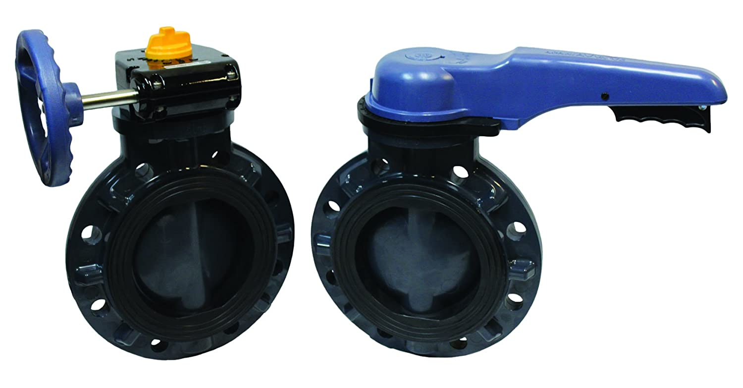 Image of Butterfly Valves ASAHI 1728060 6' Pool Pro Butterfly Valve, 150# Flange Connector, PVC