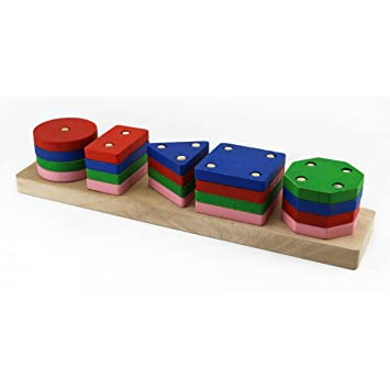 Montessori Jeu De Tri  Couleurs Et Formes Matriel Educatif Pour