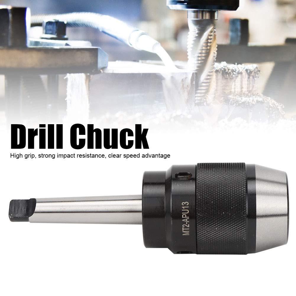 MT2-APU13 CNC Milling Machine Workholding 1-13mm Range Hardened Steel Drill Chuck Holder Tool