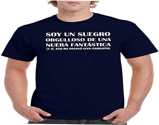 Camisetas divertidas Parent suegro Orgulloso de una nuera ...