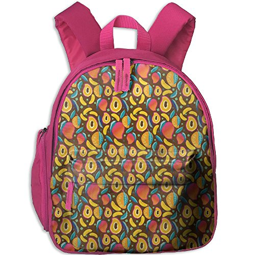 Mango Fruit Kid's School Casual Lightweight Shoulder Backpack Bag Children - Yoshi Sunglasses