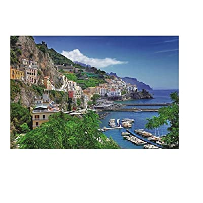 Puzzle 1000 Piece Jigsaw Puzzle Kids Adult – Famous Attractions Around The World – Fun and Challenging – Puzzle Game Interesting Personalized Gift (A): Arts, Crafts & Sewing
