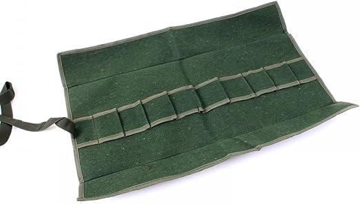 Bonsai – Bolsa para herramientas, Roll Funda, color verde musgo 59 x 26 cm 60002: Amazon.es: Jardín