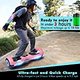 """UNI-SUN 6.5"""" Hoverboard Self Balancing Scooter with LED Lights Flashing"""