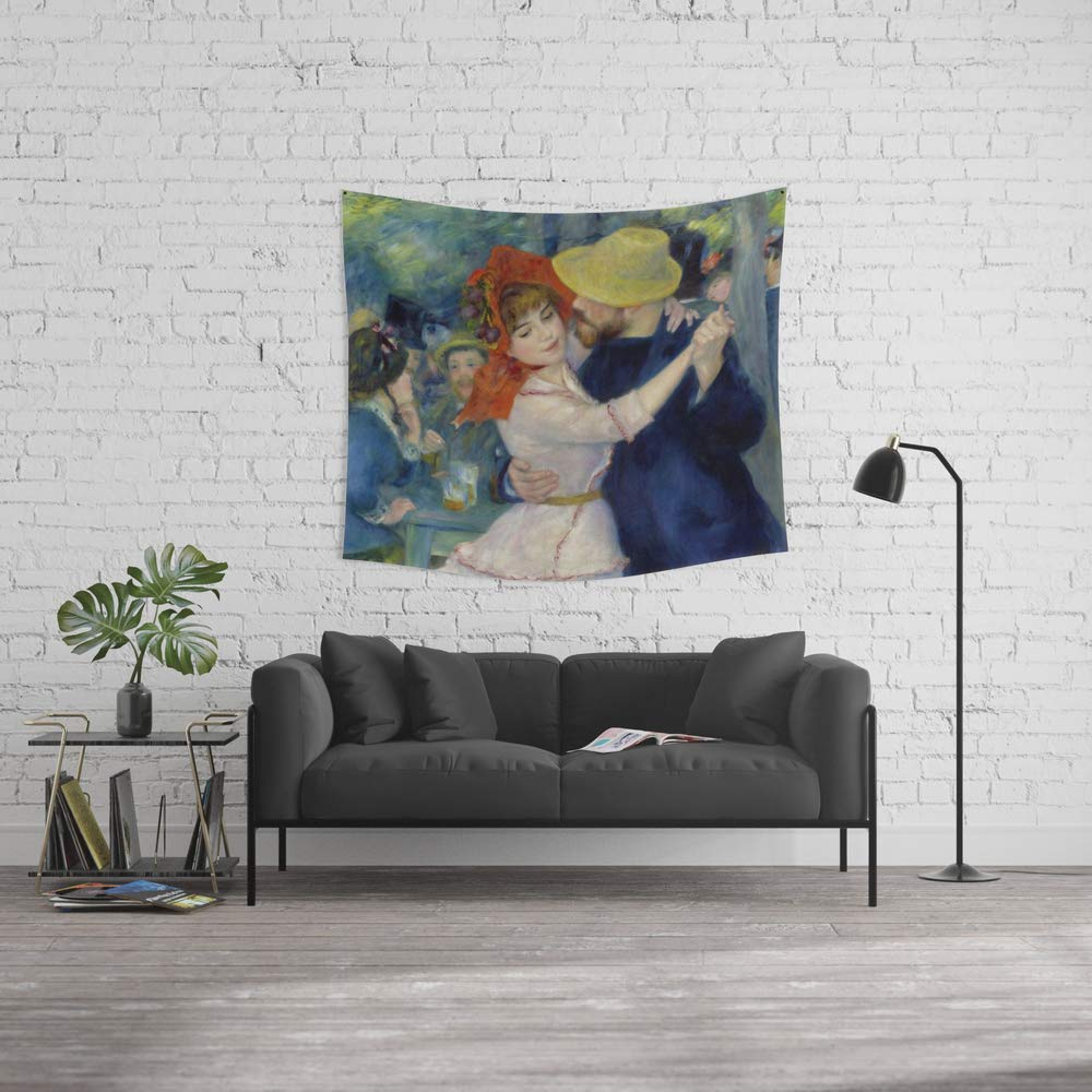 Society6 Wall Tapestry, Size Medium: 68'' x 80'', Auguste Renoir Dance at Bougival by Alexandra_Arts