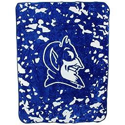 Duke Blue Devils 63 x 86 Soft Raschel Plush Throw Blanket