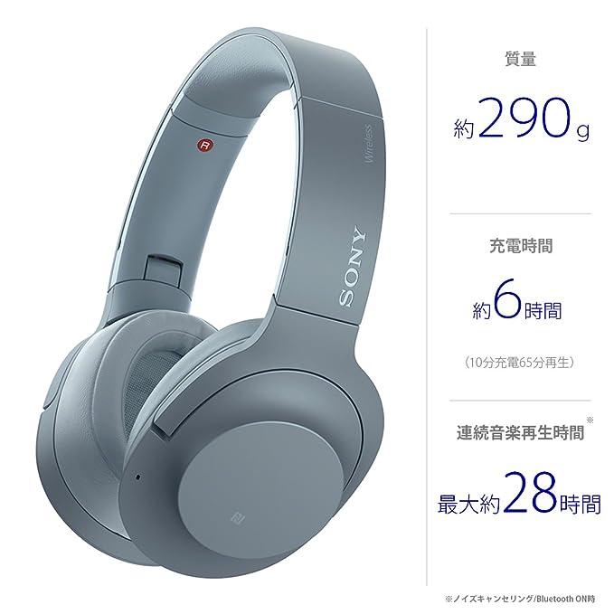 h.ear on 2 Wireless NC WH-H900N Moonlit Blueの写真05。おしゃれなヘッドホンをおすすめ-HEADMAN(ヘッドマン)-