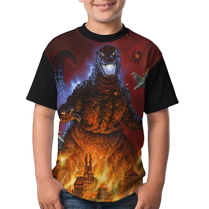 gojira t-shirt kid gojira shirt toddler clothing Children T-Shirt size:1-8 years