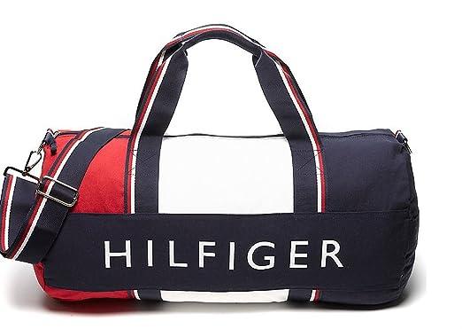 TOMMY HILFIGER SPORTTASCHE REISETASCHE LARGE DUFFLE BAG Amazoncouk Luggage