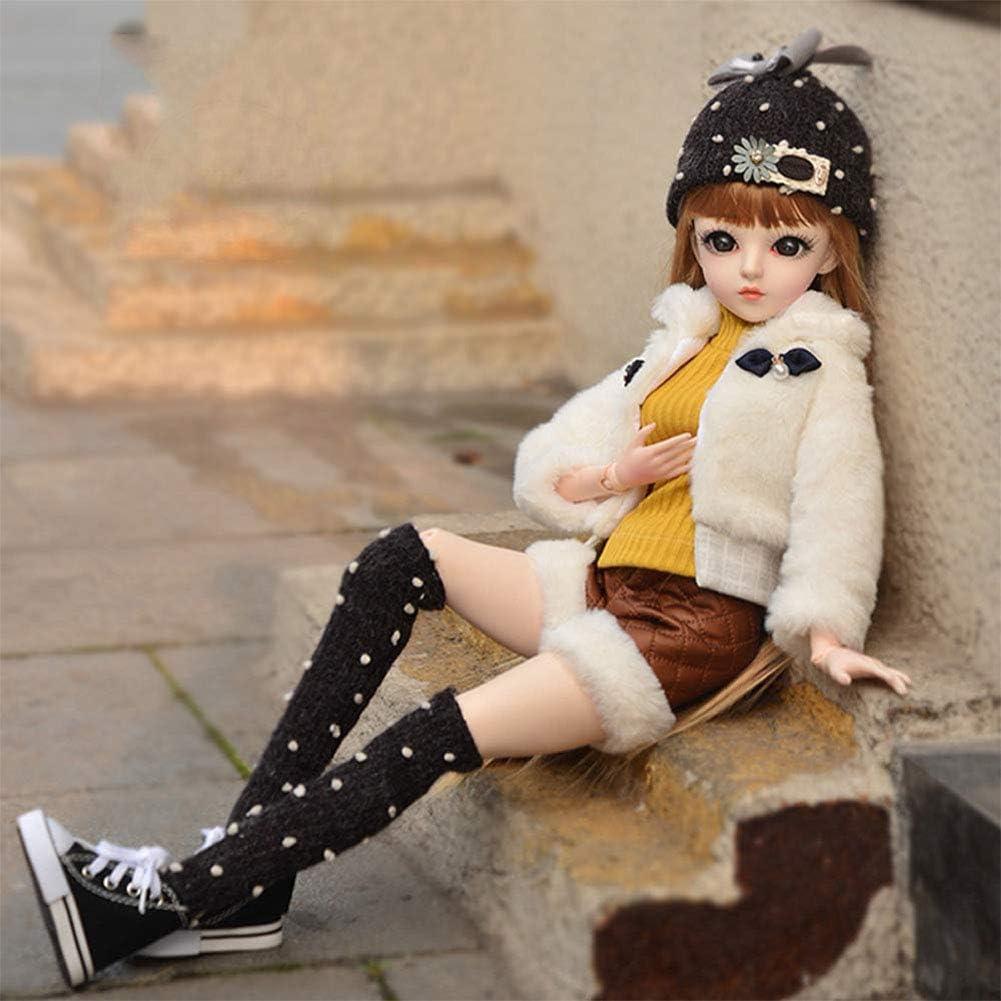 Sweet 1//6 BJD Poupée Fille Articulée avec Vêtements Jouets Cadeaux pour