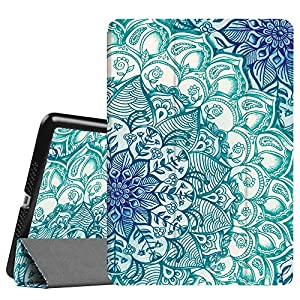 Fintie iPad Air 2 Case (2014 release) - [SlimShell] Ultra Lightweight Stand Smart Protective Cover with Auto Sleep / Wake Feature for Apple iPad Air 2, Emerald